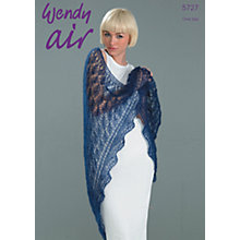 Buy Wendy Air Lace Knitting Leaflet, 5727 Online at johnlewis.com