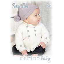 Buy Wendy Peter Pan Baby Pastels Knitting Pattern Book Online at johnlewis.com
