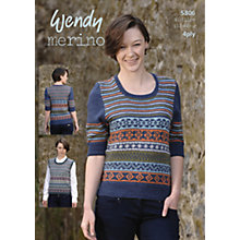 Buy Wendy Merino 4 Ply Lealfet, 5806 Online at johnlewis.com