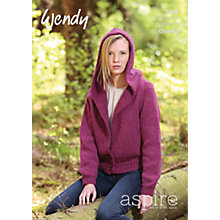 Buy Wendy Chunky Knitting Pattern, 5822 Online at johnlewis.com