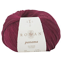 Buy Rowan Panama Yarn, 50g, Tulip 307 Online at johnlewis.com