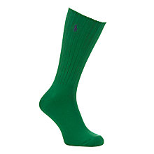 Buy Polo Ralph Lauren Classic Crew Socks Online at johnlewis.com