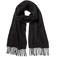 Buy Polo Ralph Lauren Wool Blend Scarf Online at johnlewis.com