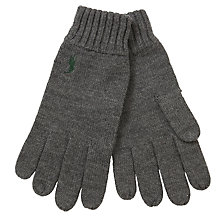 Buy Polo Ralph Lauren Merino Wool Gloves Online at johnlewis.com