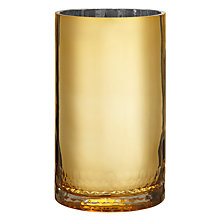 Buy John Lewis Candle Holder, Gold Online at johnlewis.com