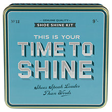 Buy Home Front Shoe Shine Kit Online at johnlewis.com