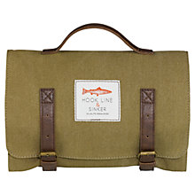 Buy Hook Line and Sinker Wash Bag, Khaki Online at johnlewis.com