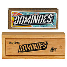 Buy Ridley's Dominoes, Black/White Online at johnlewis.com