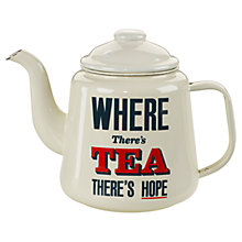 Buy Home Front Enamel Teapot, 1.5 Litres Online at johnlewis.com
