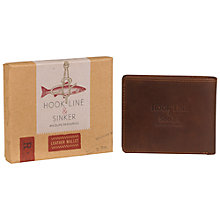 Buy Hook Line & Sinker Wallet, Brown Online at johnlewis.com