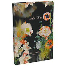 Buy Ted Baker A5 Opulent Bloom Notebook, Multi Online at johnlewis.com