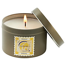 Buy Geodesis Neroli Scented Candle Tin Online at johnlewis.com