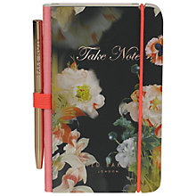 Buy Ted Baker Opulent Bloom Notebook and Pen Online at johnlewis.com