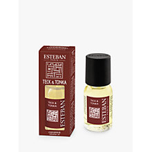 Buy Esteban Teck & Tonka Refresher Oil, 15ml Online at johnlewis.com