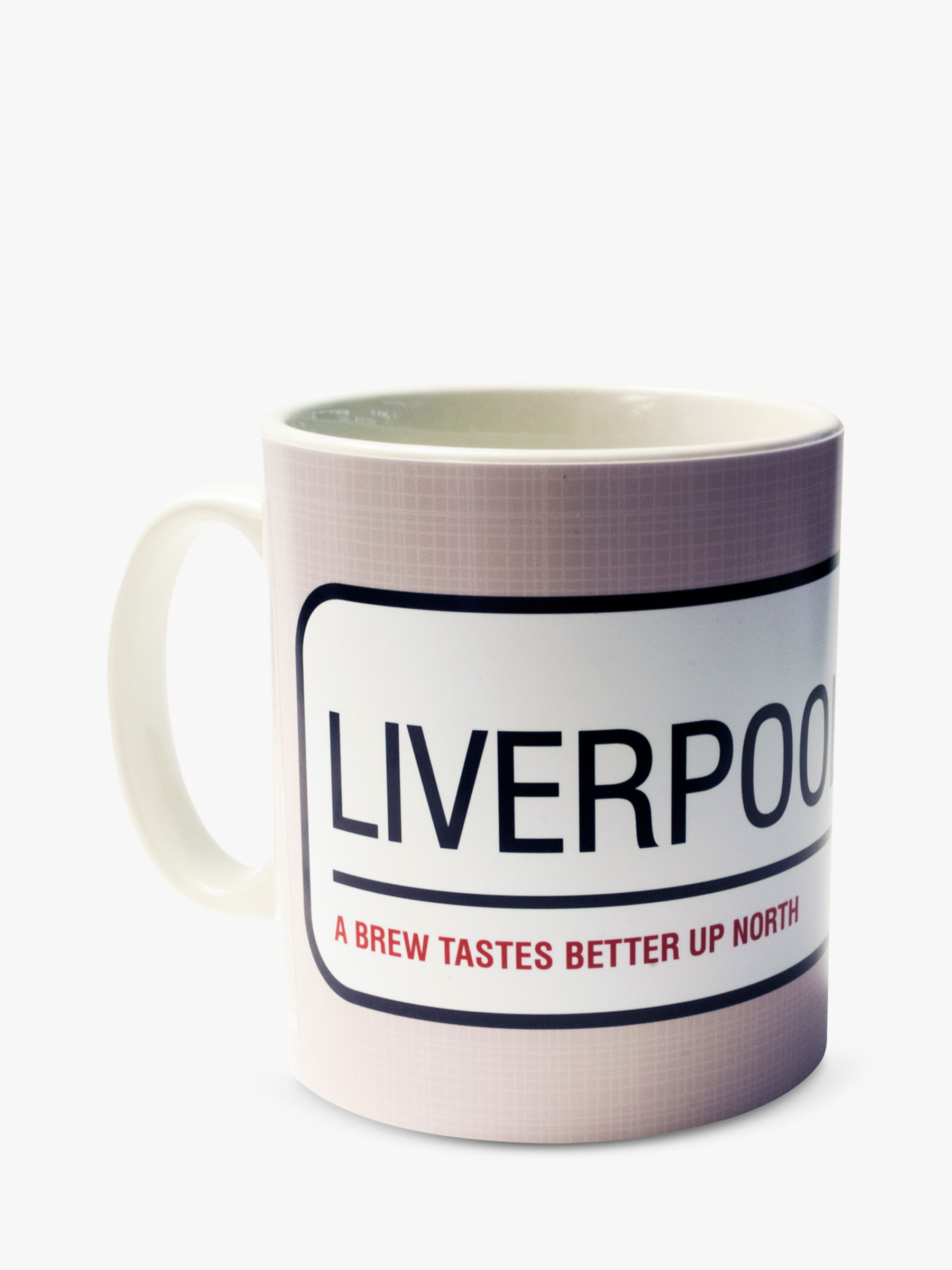 A Piece Of A Piece Of Personalised Street Sign Mug, Beige