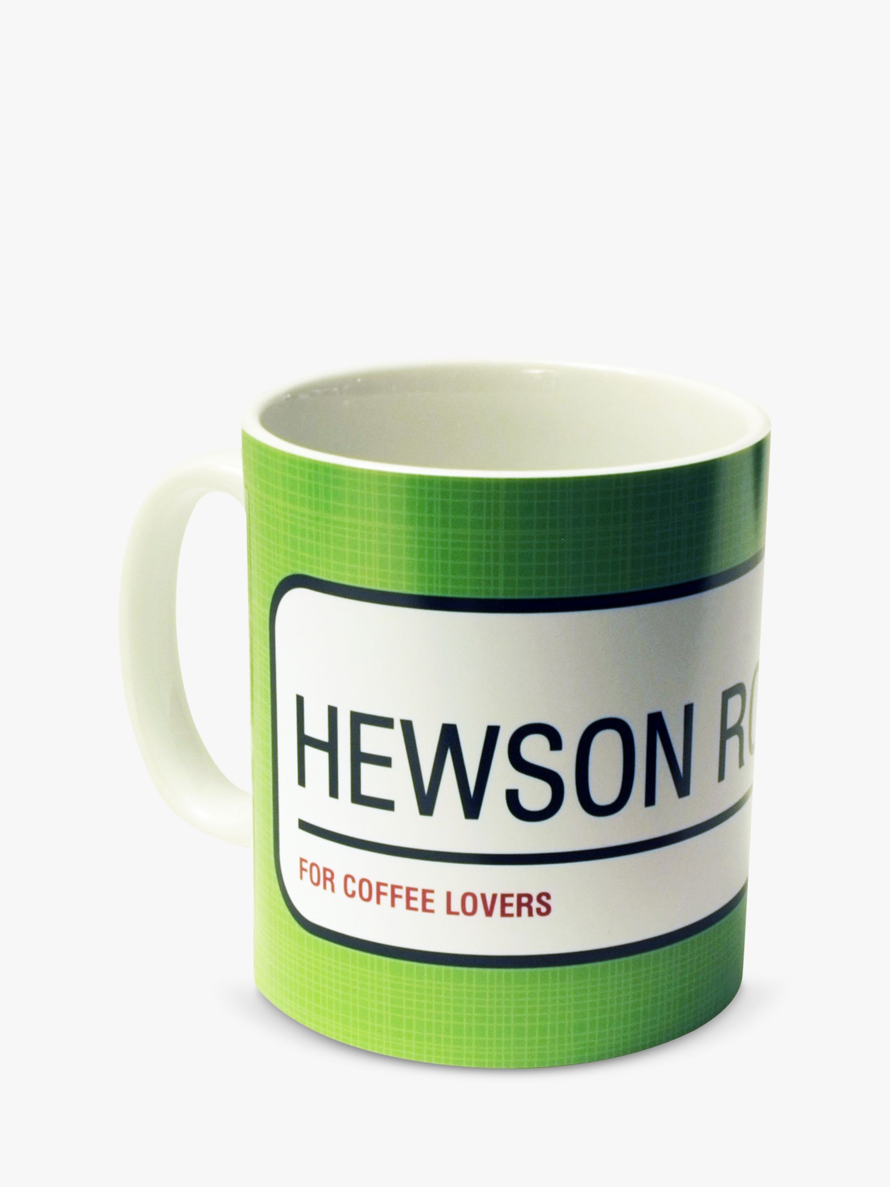 A Piece Of A Piece Of Personalised Street Sign Mug, Green