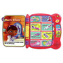 Buy Doc McStuffins Touch & Teach Big Book Of Boo Boos Online at johnlewis.com