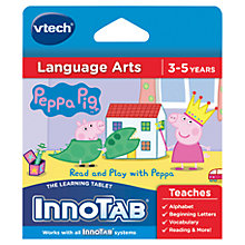 Buy VTech InnoTab Peppa Pig Software Online at johnlewis.com