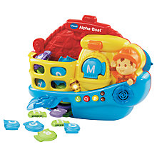 Buy VTech Baby Alphabet Boat Online at johnlewis.com