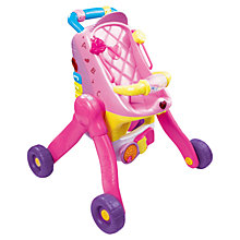Buy VTech Little Love 3-in-1 Pushchair Online at johnlewis.com