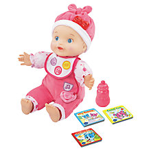 Buy VTech Little Love Baby Talk Doll Online at johnlewis.com