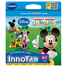 Buy VTech InnoTab Disney Mickey Mouse Clubhouse Software Online at johnlewis.com