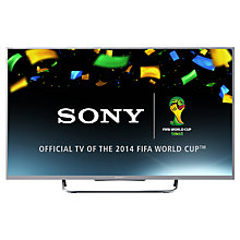"Buy Sony Bravia KDL55W8 LED HD 1080p 3D Smart TV, 55"" with Freeview HD & 2x 3D Glasses, Silver with HT-CT770 Sound Bar & Subwoofer Online at johnlewis.com"