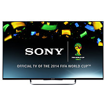 "Buy Sony Bravia KDL55W8 LED HD 1080p 3D Smart TV, 55"" with Freeview HD & 2x 3D Glasses, Black with HT-CT370 Sound Bar & Subwoofer, Black Online at johnlewis.com"