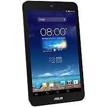 "Buy Asus MeMO Pad 8 ME180A Tablet, Quad-core Asus RK101, Android, 8"", Wi-Fi, 16GB, Dark Grey Online at johnlewis.com"