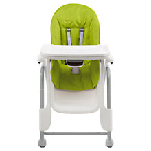 Buy Oxo Tot Seedling Highchair, Lime Online at johnlewis.com
