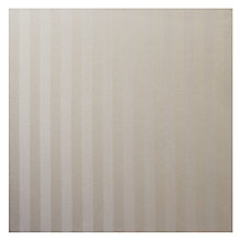 Buy John Lewis Bergen Stripe Fabric, Natural Online at johnlewis.com