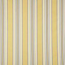 Buy John Lewis Mason Stripe Fabric, Yellow Online at johnlewis.com