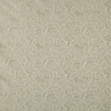 Buy John Lewis Fawley Leaf Fabric, Natural Online at johnlewis.com