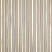 Buy John Lewis Arundel Stripe Fabric, Mocha Online at johnlewis.com