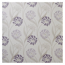 Buy Maggie Levien for John Lewis Ariana Fabric, Cassis Online at johnlewis.com