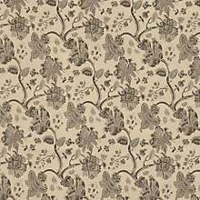 Buy John Lewis Kaya Fabric, Brown Online at johnlewis.com