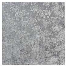 Buy John Lewis Aletta Fabric, Silver Online at johnlewis.com