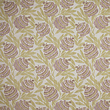 Buy John Lewis Tiki Fabric, Soft Mulberry Online at johnlewis.com
