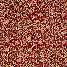 Buy John Lewis Harper Fabric, Claret Online at johnlewis.com