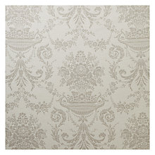 Buy John Lewis Blenheim Leaf Furnishing Fabric, Natural Online at johnlewis.com