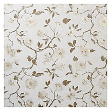 Buy John Lewis Linen Rose Furnishing Fabric, Natural Online at johnlewis.com