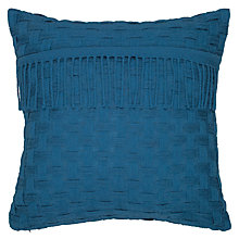 Buy John Lewis Croft Collection Basket Weave Cushion Online at johnlewis.com