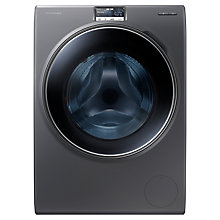 Buy Samsung WW10H9600EX Washing Machine, 10kg Load, A+++ Energy Rating, 1600rpm Spin, Inox Online at johnlewis.com
