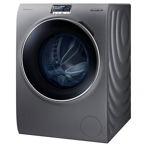 Buy Samsung WW10H9600EX Freestanding Washing Machine, 10kg Load, A+++ Energy Rating, 1600rpm Spin, Inox Online at johnlewis.com