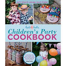 Buy Hats & Bells: Children's Party Cookbook Online at johnlewis.com