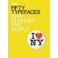 Buy Fifty Typefaces That Tangled the World Online at johnlewis.com