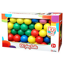 Buy 100 Play Balls Online at johnlewis.com