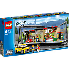 Buy LEGO City Train Station Bundle with Free Watch Online at johnlewis.com