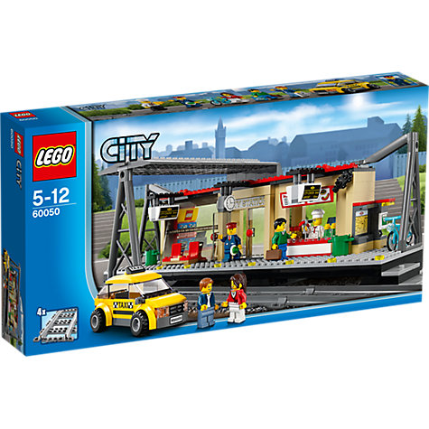 Buy LEGO City Train Station Online at johnlewis.com