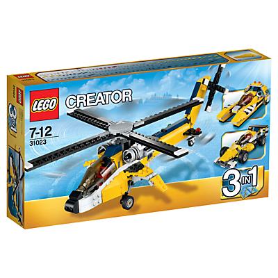 LEGO Creator 3-in-1 Yellow Racers